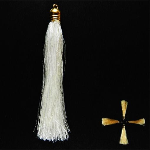 Picture of 10cm Silk Tassel with Cap
