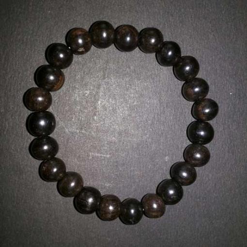 Picture of Ebony Wood Beads Bracelet