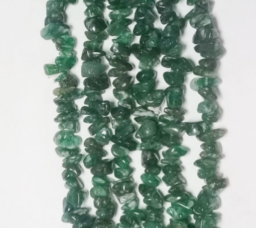 Picture of Green Aventurine chips beads
