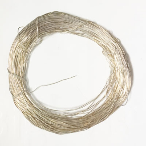 Picture of Copper wire with silver polish