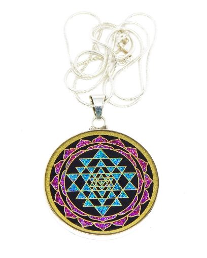 Picture of Sacred Geometry : Sri Yantra Pendant