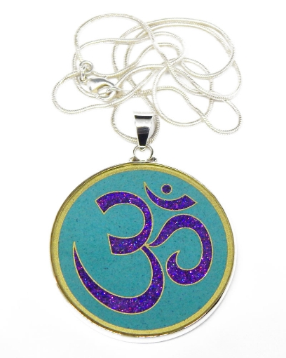 Picture of Sacred Geometry : AUM (OM) Pendant
