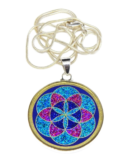 Picture of Sacred Geometry :  Seed Of Life Pendant
