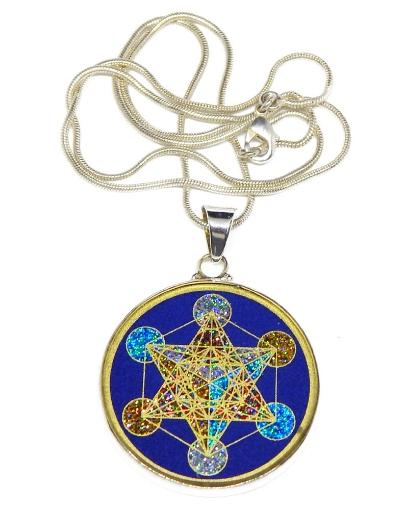 Picture of Sacred Geometry :  Metatron's Cube Pendant