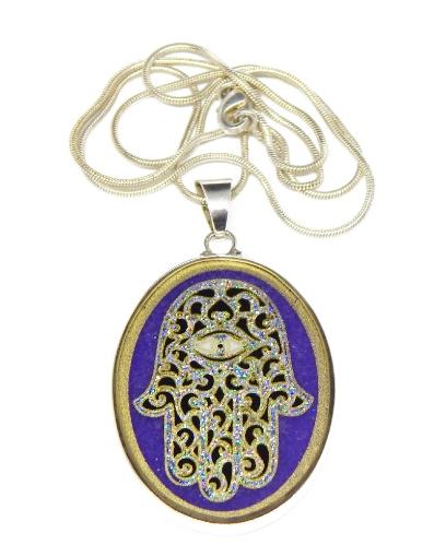 Picture of Sacred Geometry :  Hamsa Pendant
