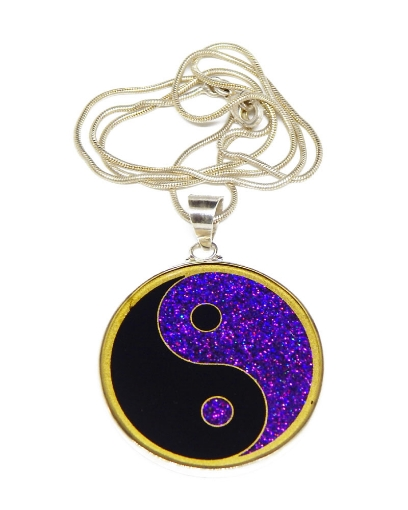Picture of Sacred Geometry :  Yin Yang Pendant