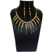 Picture of Gemstone Turquoise & metal Fancy beads Necklace