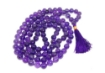 Picture of Amethyst Mala : 108+1 Beads Knotted Mala