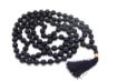 Picture of Black Onyx Mala : 108+1 Beads Knotted Mala