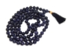 Picture of Blue Goldstone Mala : 108+1 Beads Knotted Mala