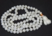 Picture of Rainbow Moonstone Mala : 108+1 Beads Knotted Mala