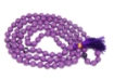 Picture of Sugilite Mala : 108+1 Beads Knotted Mala