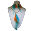 Picture of Metal Chain & fancy Feathers Necklace