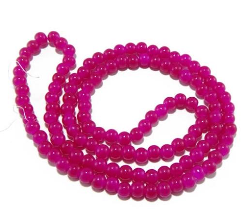 6mm Glass Mala Beads