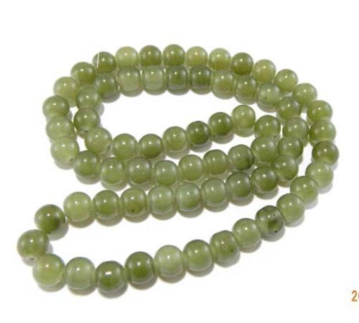 10mm Round Glass Beads