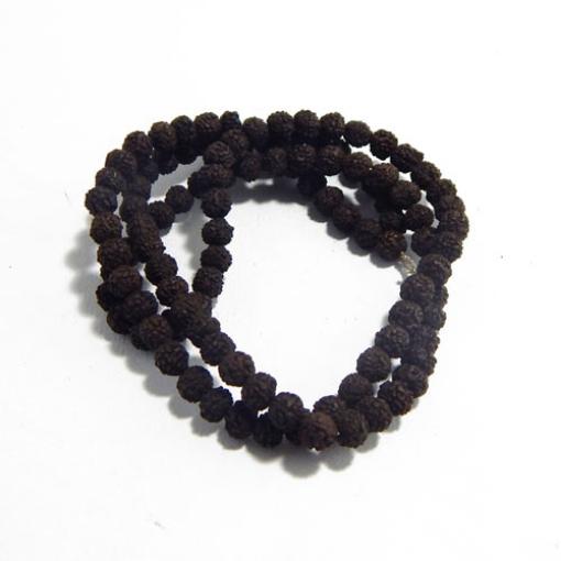 Black Rudraksha String 7mm