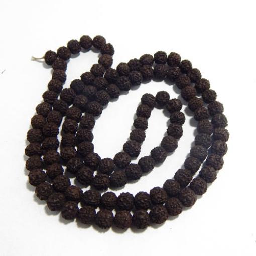 Black Rudraksha String 10mm