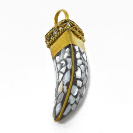 Brass Lakh Pendant