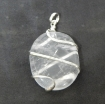 Crystal Quartz Wire Wrapped Pendant