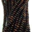 Rose Wood Disc Shape Beads 12mm